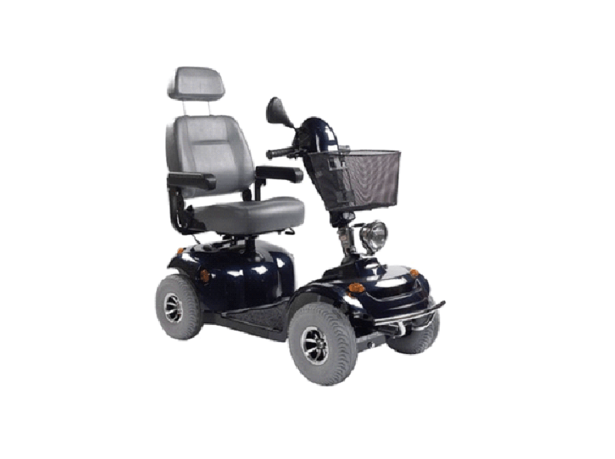 Get your mobility scooter with us